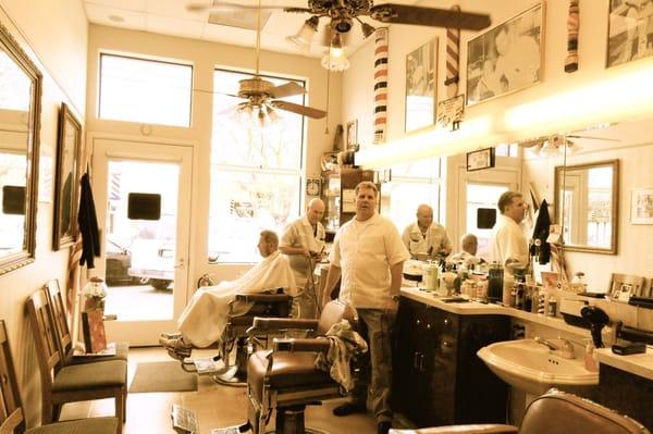 Als Barber Shop - Newly built, old-fashioned barbershop. - Los Altos ...