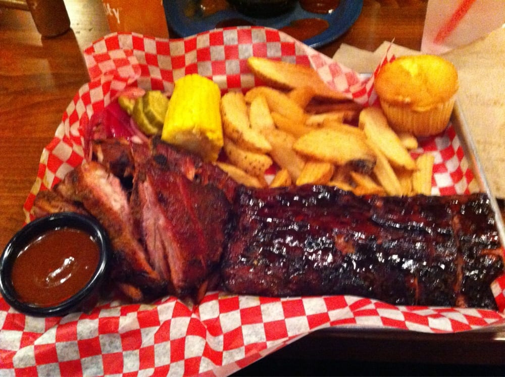 Baby Back Ribs With Fries