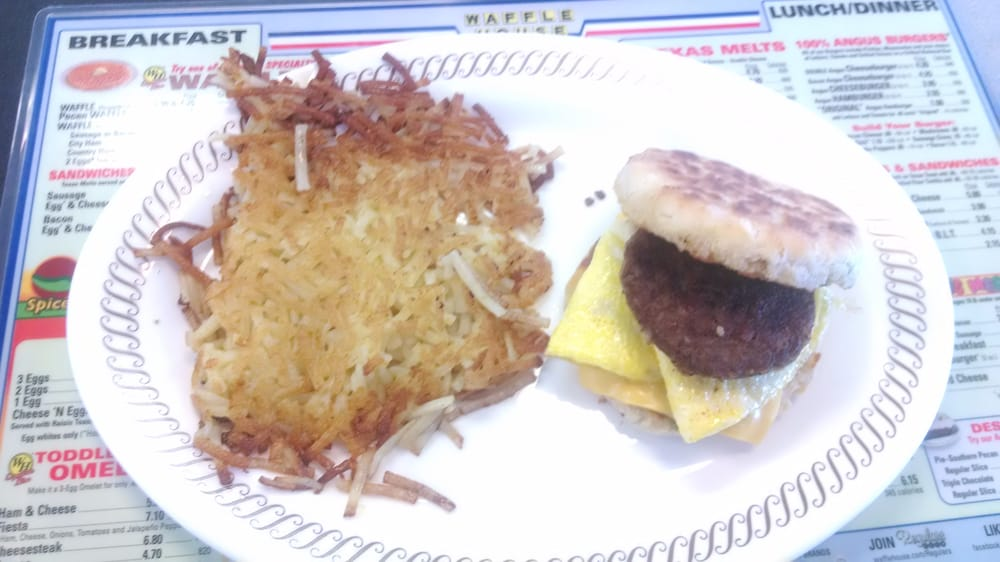Waffle House Loaded Hash Browns Waffle House Jalapeno Cheddar Biscuit Amp Hash Browns Allentown pa