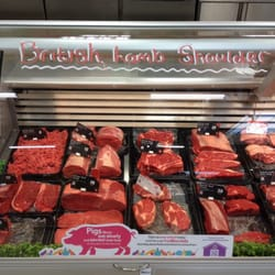 Excellent meat selection