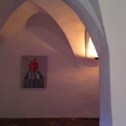 Das alte Gewölbe wird heute für…