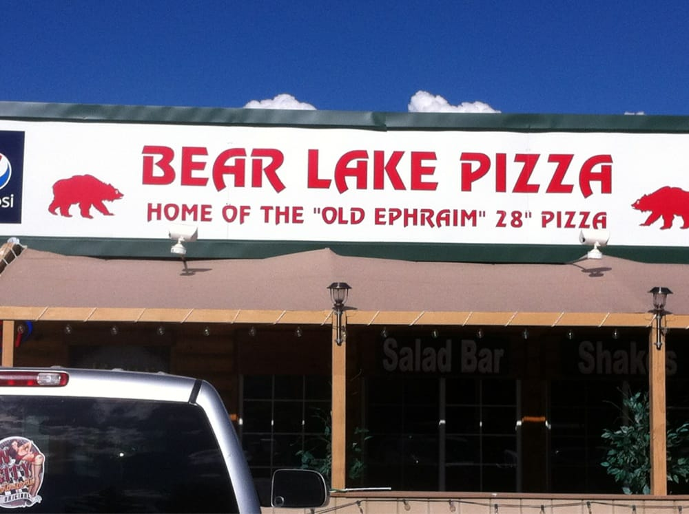 Bear Lake Pizza Pizza Garden City Ut Reviews