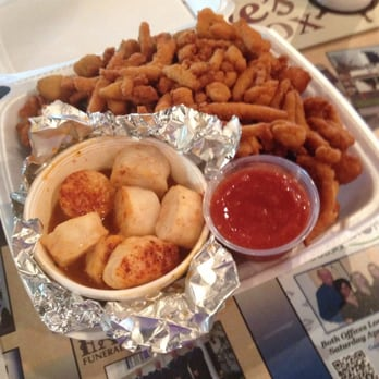 Love s fish box restaurants 1104 shelby rd kings for Loves fish box menu