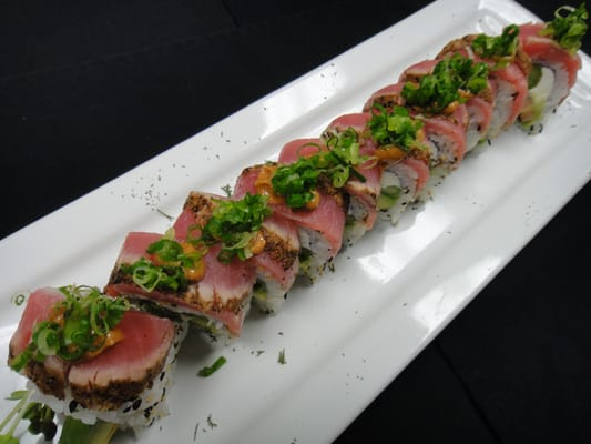 Seared Tuna Sushi Rolls Recipes — Dishmaps