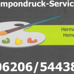 Tampon-Druck-Service Hermann Hemer, Lampertheim, Hessen