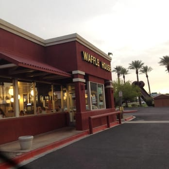 Waffle House restaurant locations serving breakfast, lunch and dinner 24 hours a day.