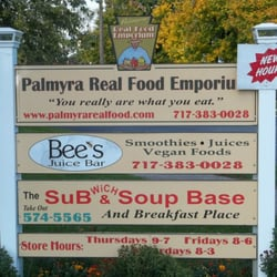 Palmyra Real Food Emporium - Palmyra, PA, États-Unis. Here are some of the producers you'll find inside. We also stock groceries.