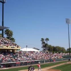 ESPN Wide World Of Sports Complex - Braves vs Reds exhibition game during spring training. - Kissimmee, FL, Vereinigte Staaten