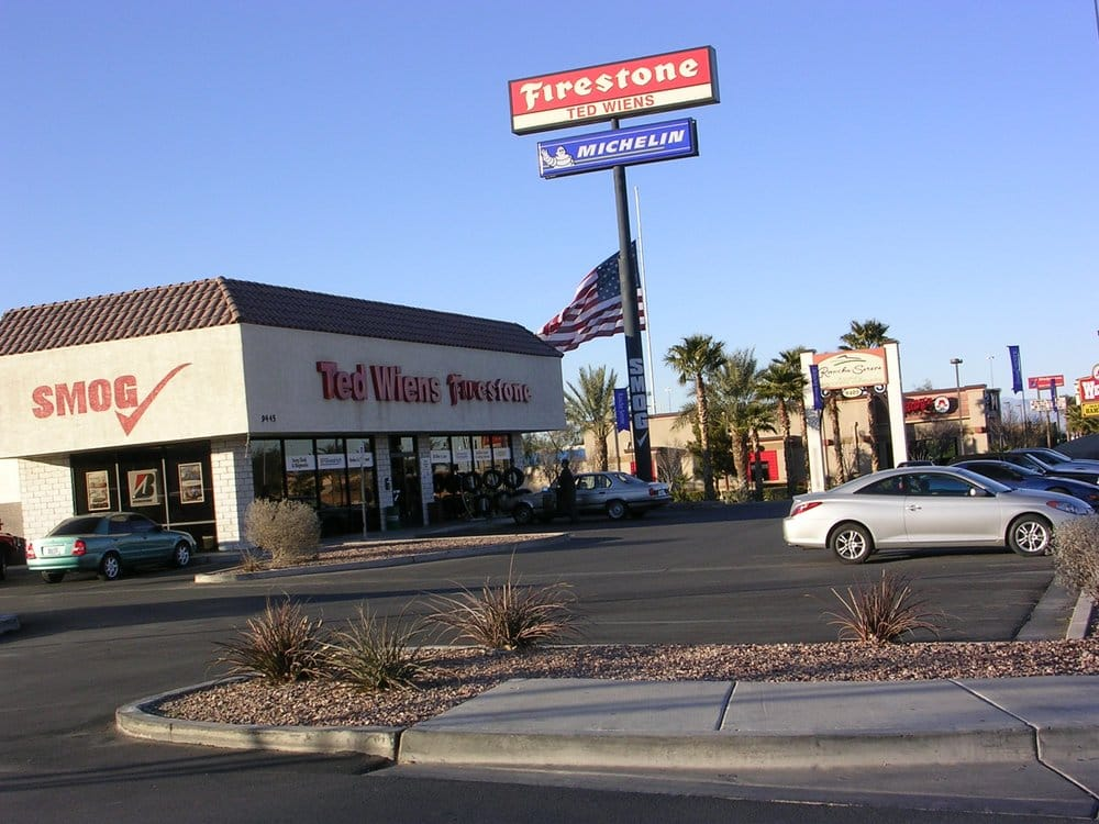 Ted wiens tire auto centers tires southeast las for Lv motors las vegas