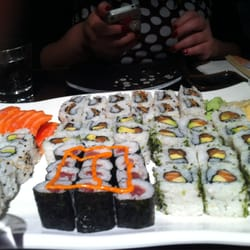 All you can eat sushi