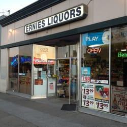 Ernies Liquors logo