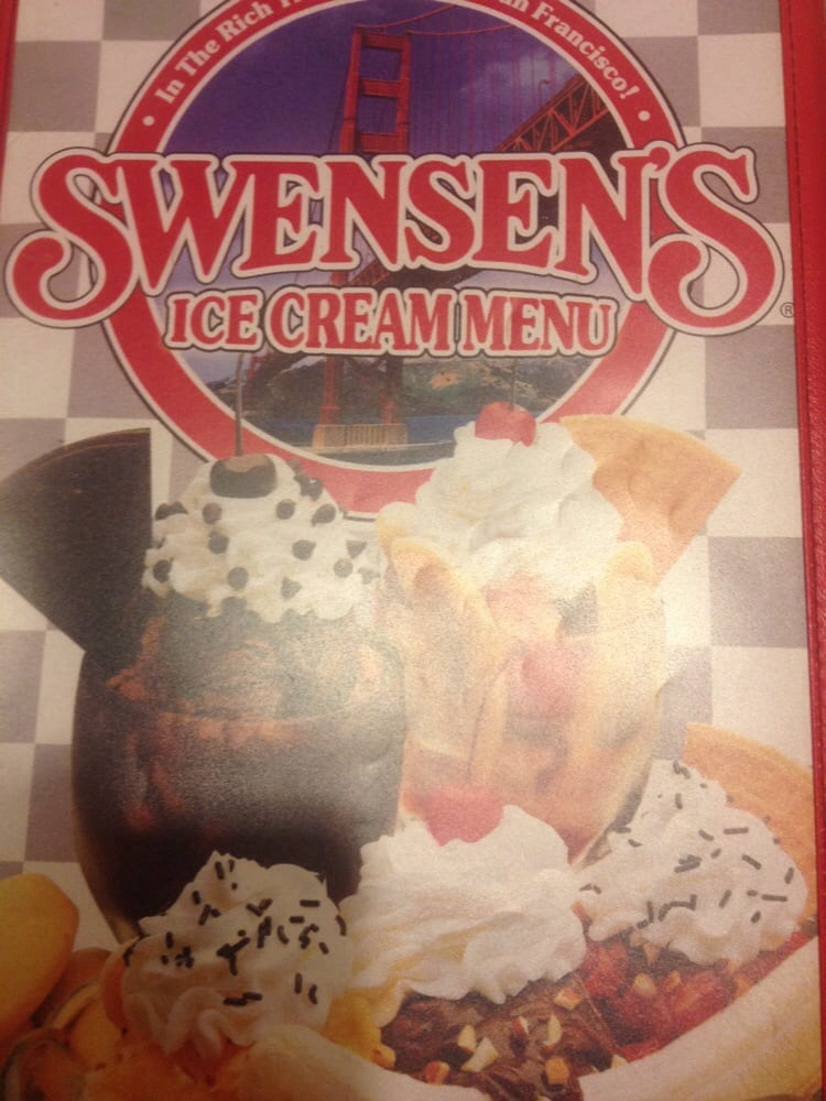 Swensen Ice Cream Cake Menu Swensen 39 s Grill Amp Ice Cream