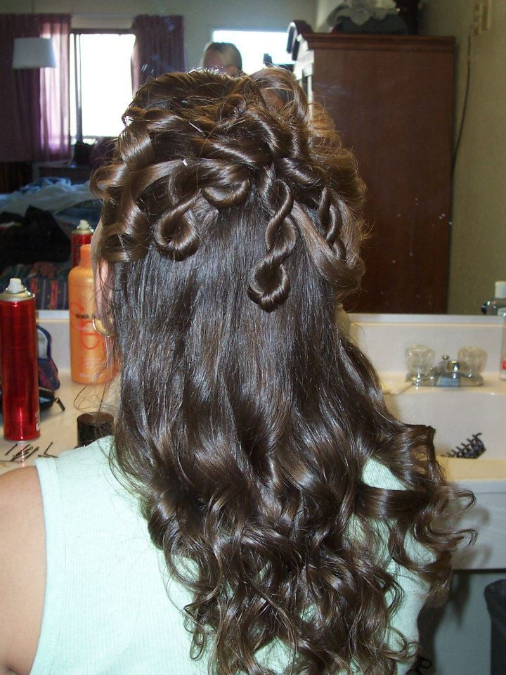 Up do done by brandi yelp for Image joli salon