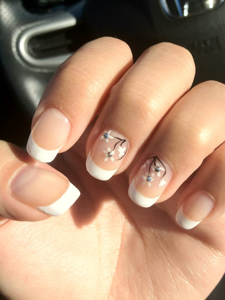 Classy Nails - Daly City, CA, United States. Gel French Manicure.