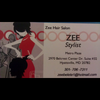 Zee Hair Salon: Hair Styling