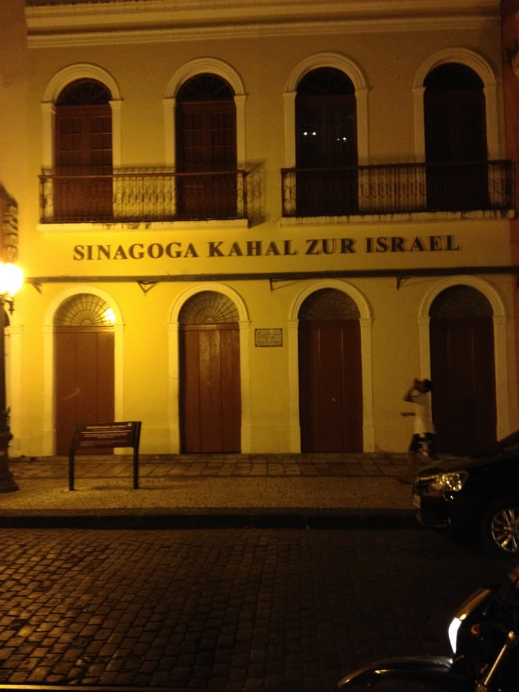 Sinagoga Kahal Zur Israel - Recife - PE, Brasil. Fachada