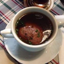 Tolle bayrische Leberknödel Suppe !!