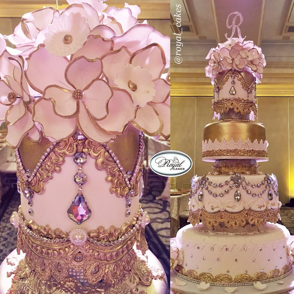 My Beautiful 4 Tier Wedding Cake It Started Off As A
