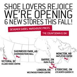 Shoe Stores Sherwood Park