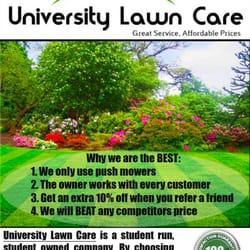 University Lawn Care Ottawa On Canada Yelp