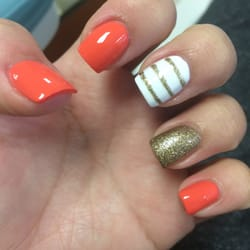 Vo Nails - Tampa, FL, United States. Something fun for the Summer :-)