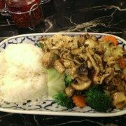 Thai Country Restaurant - Pad garlic lunch - McMinnville, OR, Vereinigte Staaten