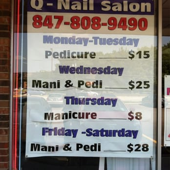 Q-Nails Salon - Buffalo Grove  Q Nails Buffalo Grove