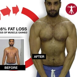 LONDON PERSONAL TRAINER CLIENT BEFORE AND AFTER