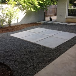 River rock lawn and landscaping landscaping great for Landscaping rocks austin