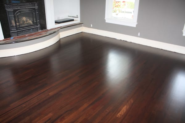 Custom Stained Brazilian Cherry Yelp