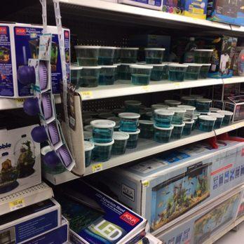 Walmart supercenter 12 photos 75 reviews department for Fish store austin