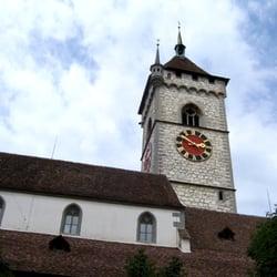 Die heutige Stadtkirche St. Johann,…