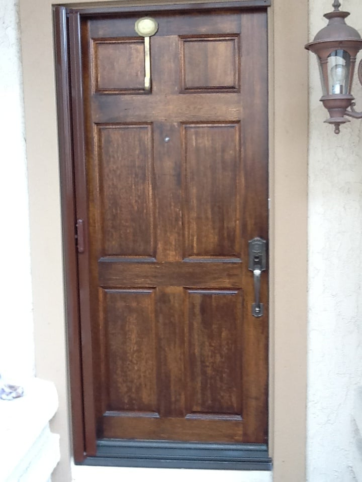 South county window coverings and retractable screen doors for Retractable screen door ratings