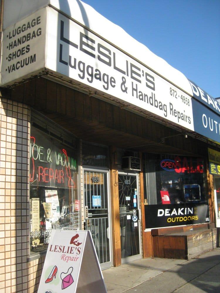 Leslie S Luggage Shoe Repair