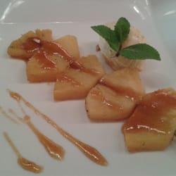 La table du fort brochette d 39 ananas caram lis et glace - Restaurant la table du fort marseille ...