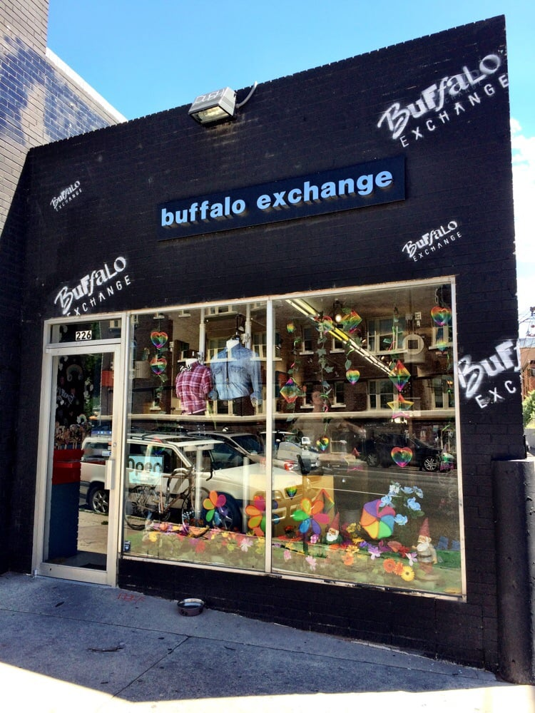 buffalo exchange the annex vintage second