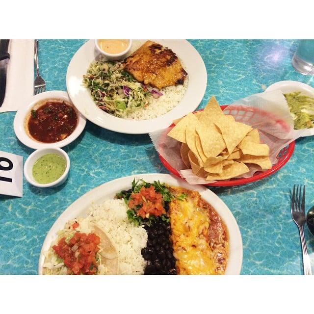 Wahoo s fish tacos 74 photos mexican huntington for Fish taco menu