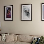 Total Framing - Fairfax, VA, États-Unis. Living room trilogy