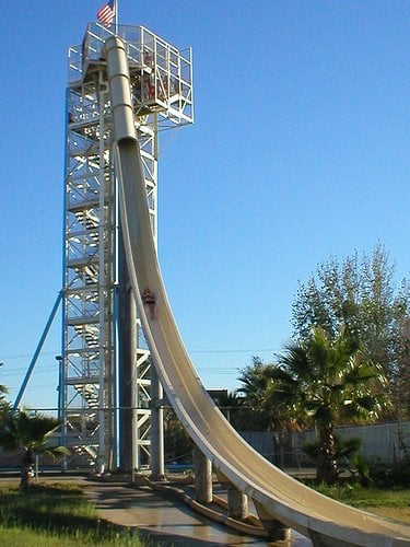 Manteca (CA) United States  city pictures gallery : Manteca Waterslides Manteca, CA, United States. The famous V Max.