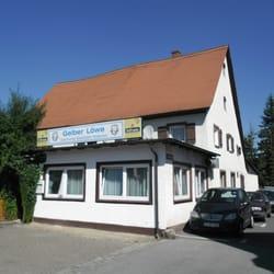 Gelber Löwe, Oberasbach, Bayern