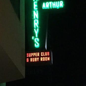 Arthur Henry S Supper Club Ruby Room Sacramento Ca