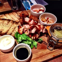 The sharing platter was delicious!!!