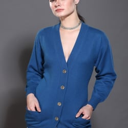 Long Cashmere Cardigan for Women