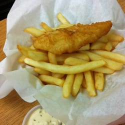 Captain Mike Fish Fry & Chicken Restaurant - 1 pc fish and chips - Costa Mesa, CA, Vereinigte Staaten