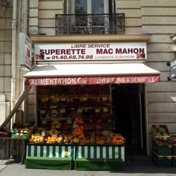superette mac mahon, Paris, France