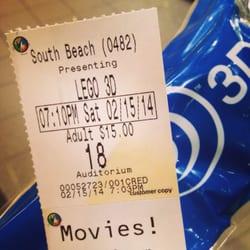Regal Cinemas South Beach  Fandango