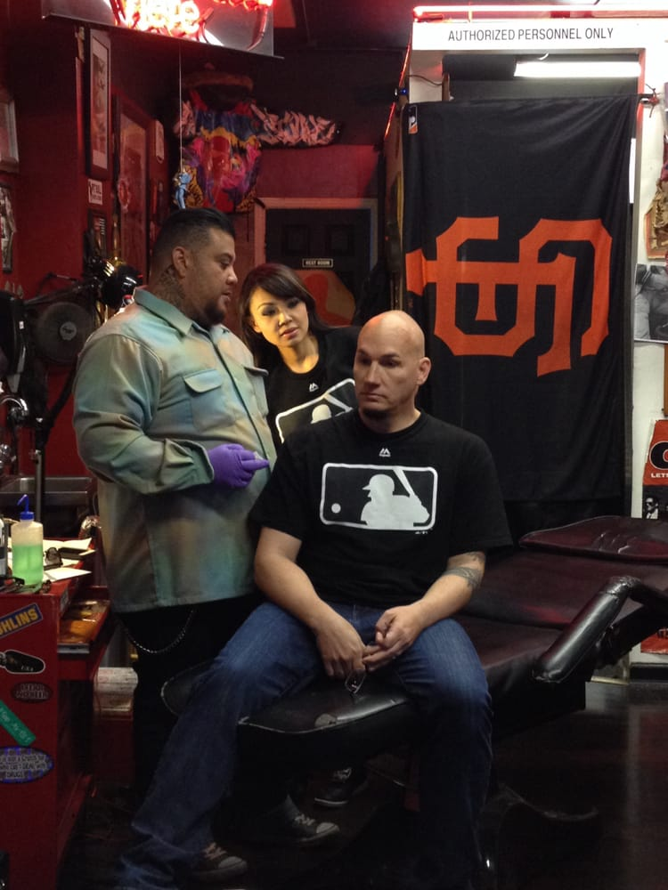 Van tattooing JV from Wild 94.9 | Yelp