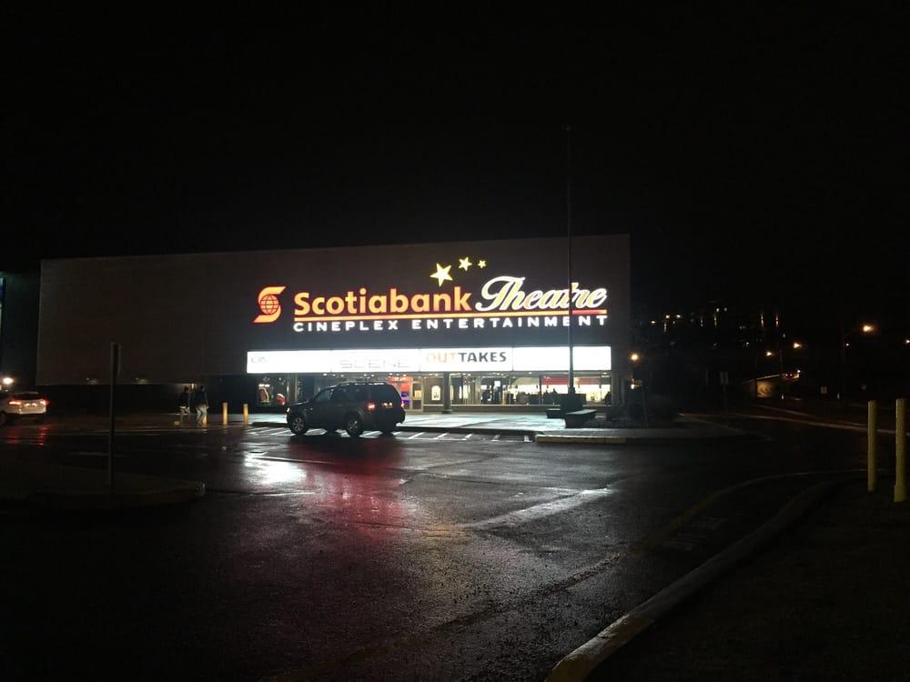 Scotiabank theatre parking price