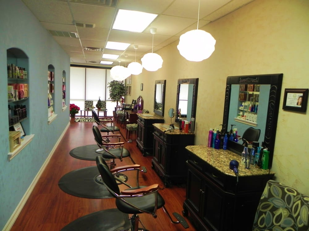 Hair styling stations st medispa salon in college for Salon stations