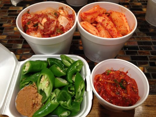 Kimchi and Green Chili Peppers | Yelp